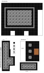 castelo-wc en ontwerp met vloertegels van castelo cementtegels.