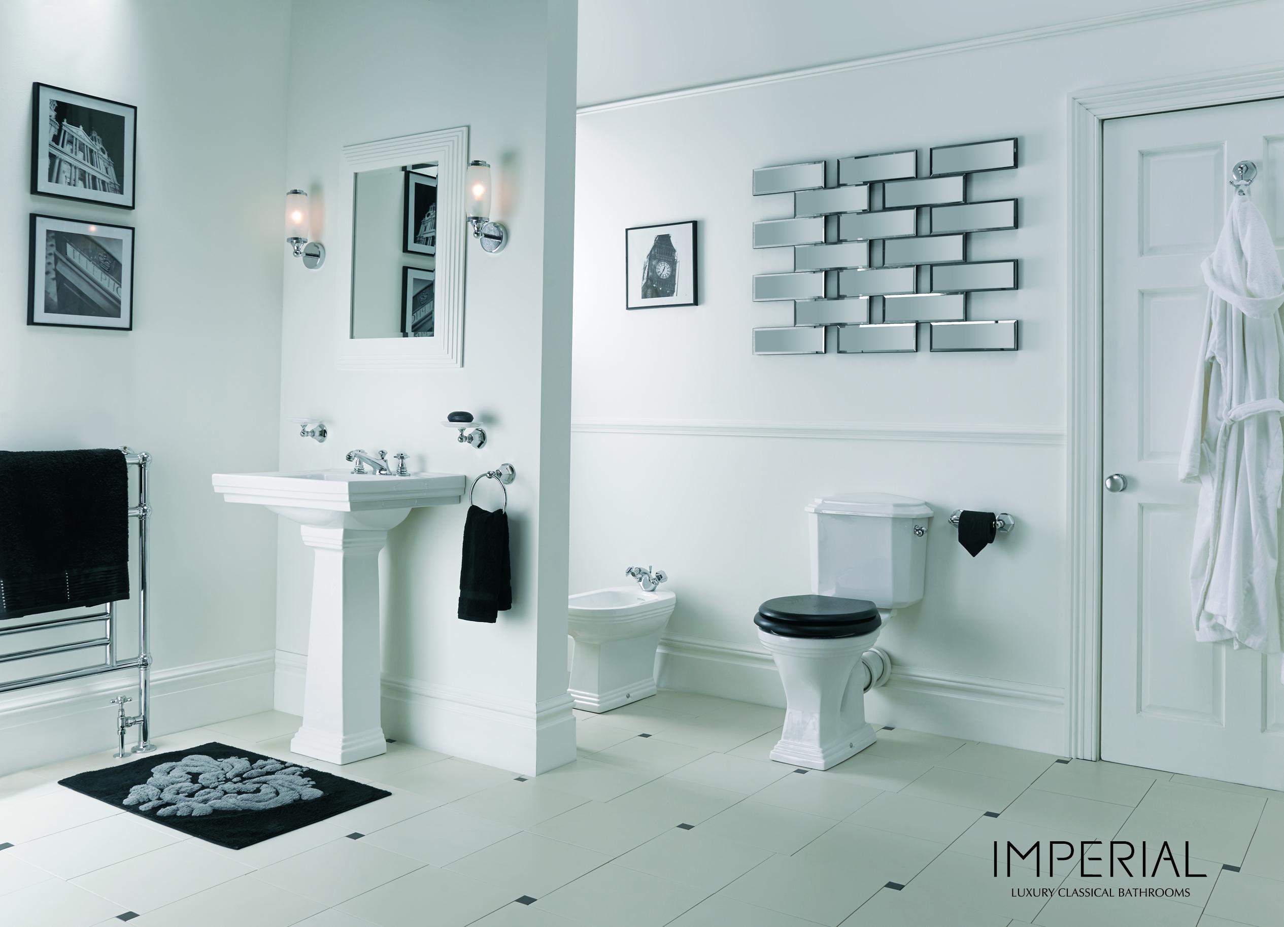 Imperial bathrooms badexclusief luxe klassiek sanitair.