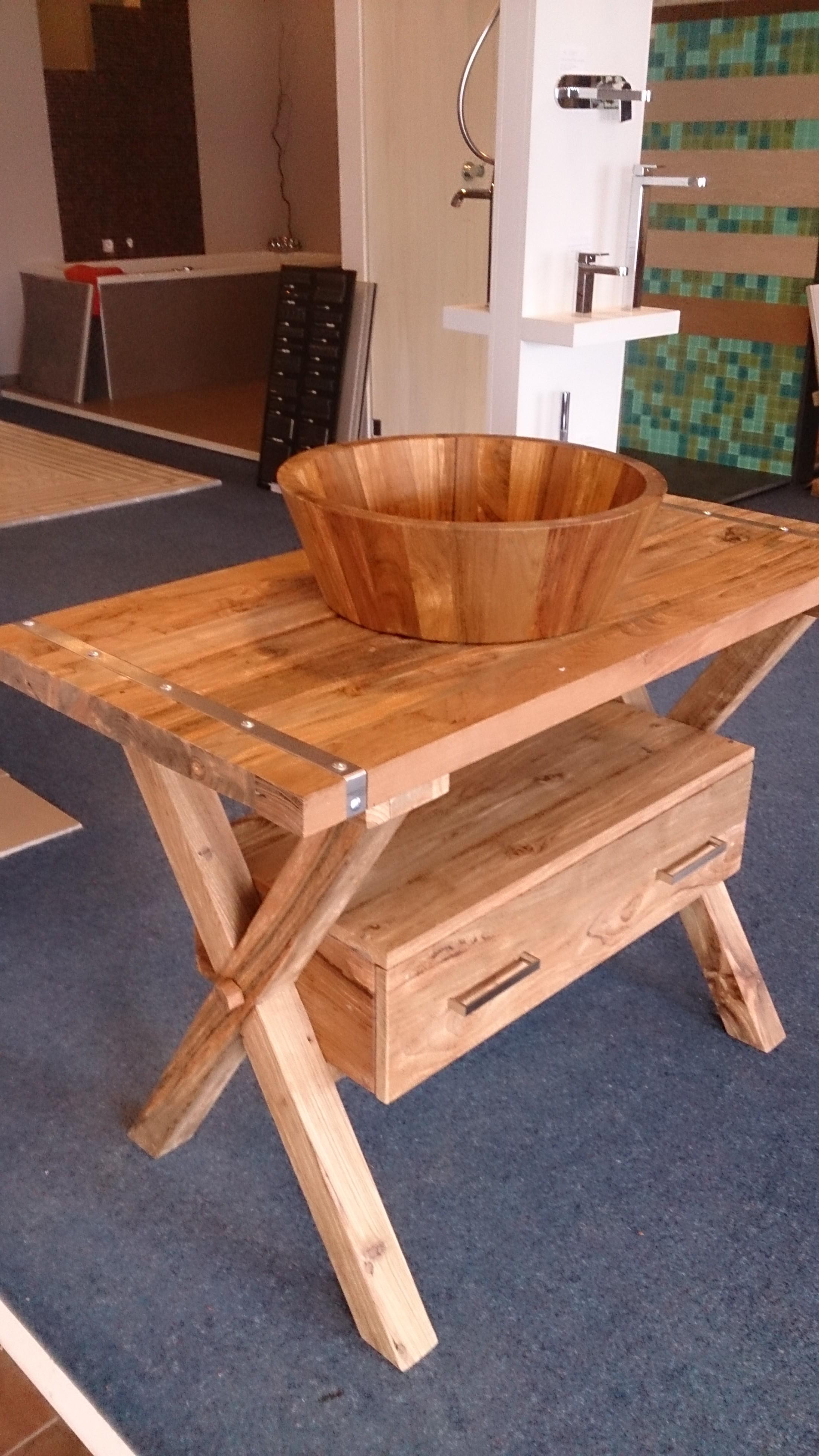 ... hout massief meubel arredo badexclusief toonzaal en teak hout wasbak