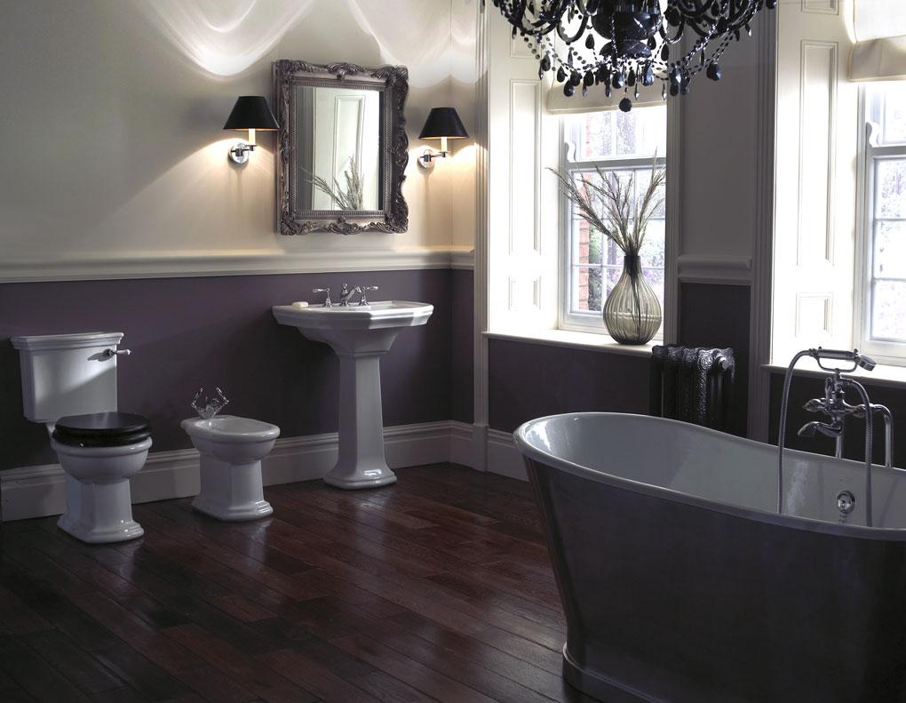 Badexclusief Groningen, dé badkamerarchitect voor Nederland gebruikt het luxe klassiek sanitair van Imperial-Bathrooms
