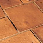 terra cotta vloertegels van badexclusief-original-style , mediteraanse invloeden, handgemaakt en authentiek klassiek.
