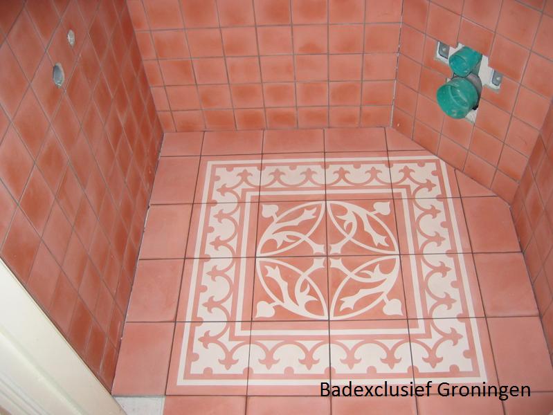 Castelo wc vloer tegel patroon bad exclusief