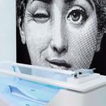 THG Paris en Badexclusief dé badkamerarchitect uit Groningen met luxe badkamer en luxe sanitair uit de collectie Urban van Fornasetti