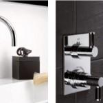 Contemporary, de luxe kranen voor de moderne luxe badkamer van badkamerarchitect badexclusief uit Groningen en THG Paris en JCD.