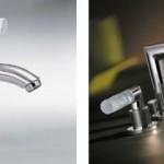 Lalique , kristallen handgrepen en edelmetalen luxe kranen van THG Badexclusief voor Nederland.
