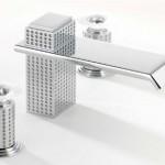 Lalique de luxe kranen met kristal en edelmetaal van THG Badexclusief, de Nederlandse badkamerarchitect uit Groningen.